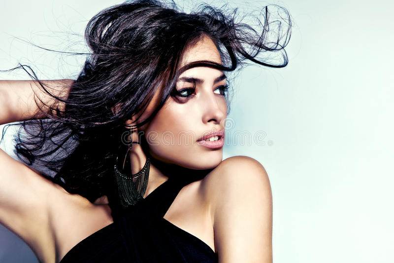 Latino schoonheid royalty-vrije stock foto's