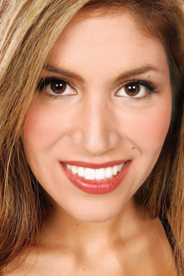Latino Woman Close Up stock photos