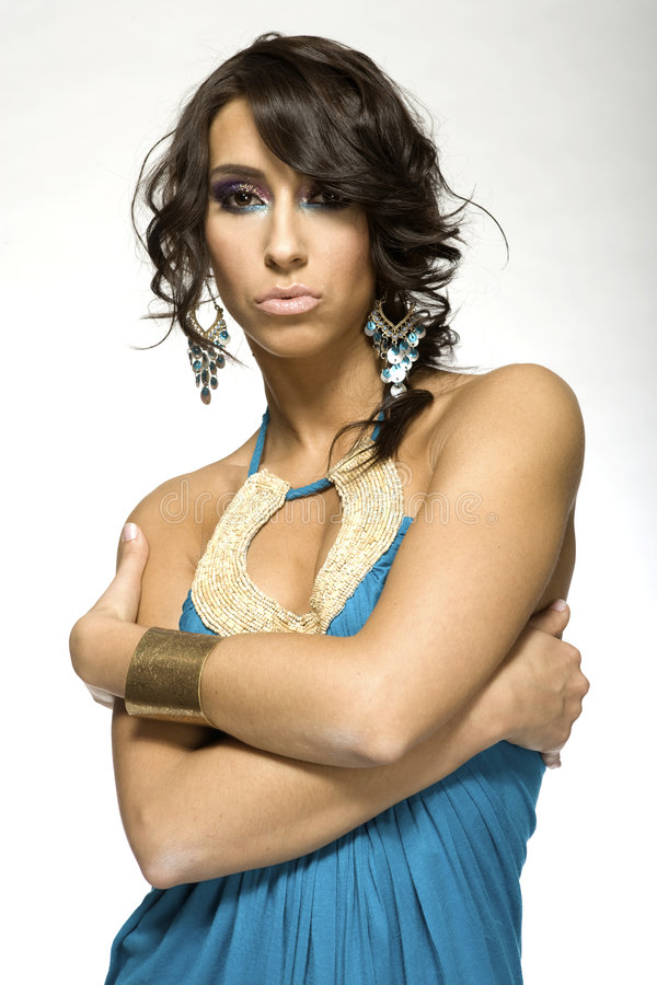 latinokvinna royaltyfri bild