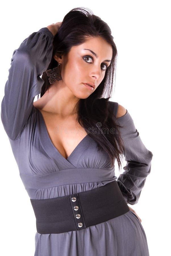 latinsk sexig kvinna royaltyfria foton