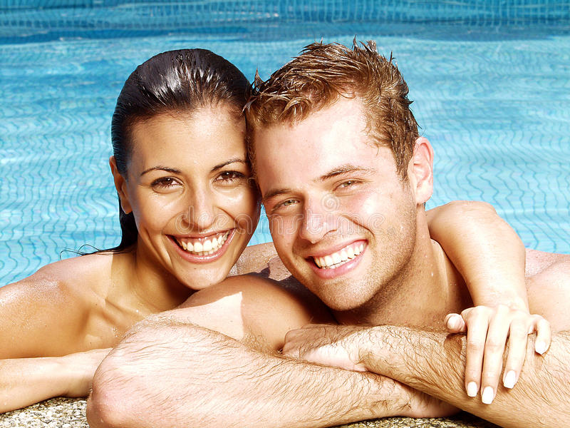 latinsk swimmingpool royaltyfri bild