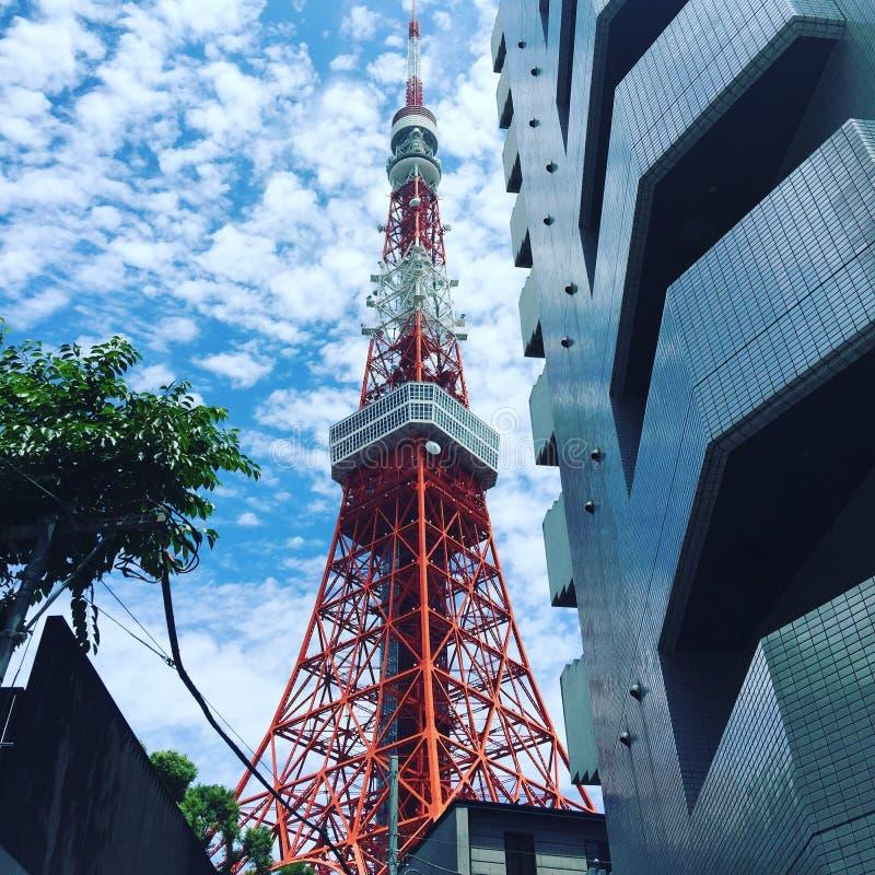 2011 lato brać Tokyo wierza zdjęcia royalty free