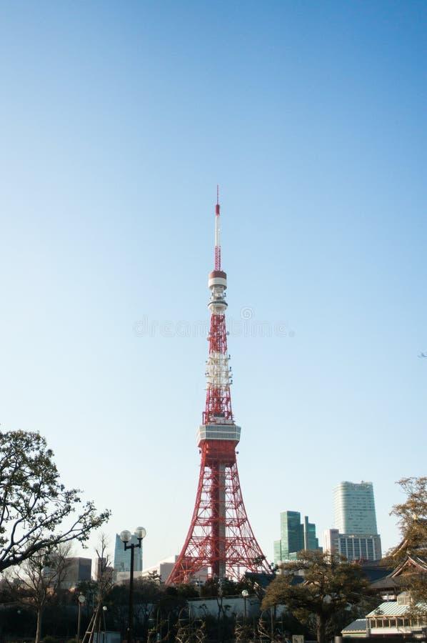 2011 lato brać Tokyo wierza zdjęcia stock