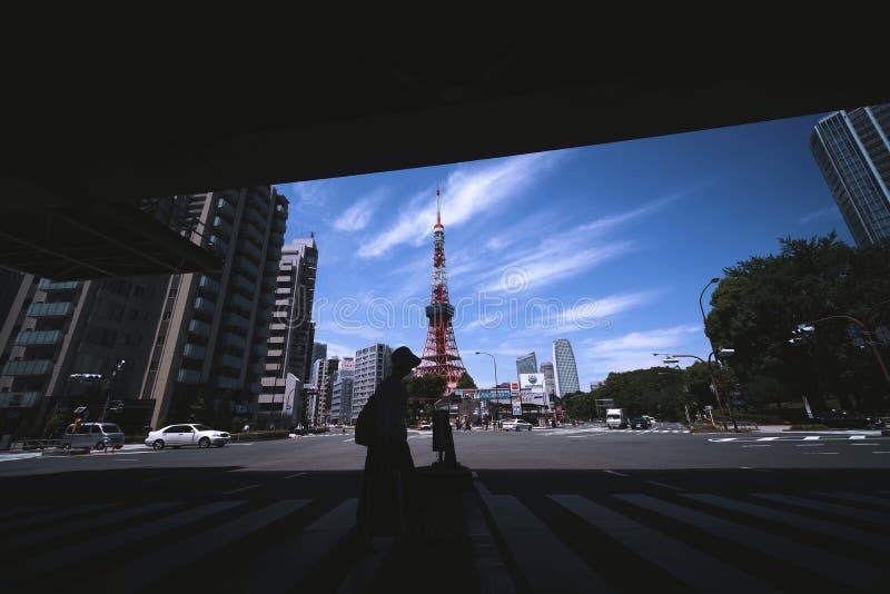 2011 lato bra? Tokyo wierza obraz royalty free