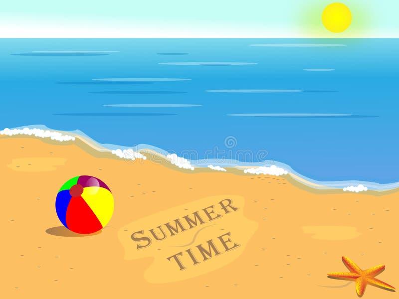 lato czas ilustracja wektor
