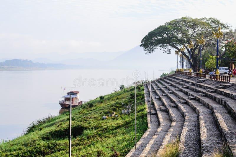 Lato del fiume di Kong fotografie stock libere da diritti