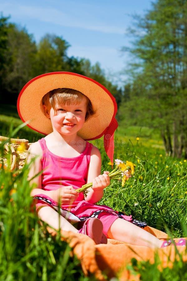 Lato dziewczyna zdjęcia royalty free