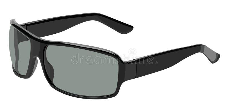 Lato grigio degli occhiali da sole illustrazione di stock