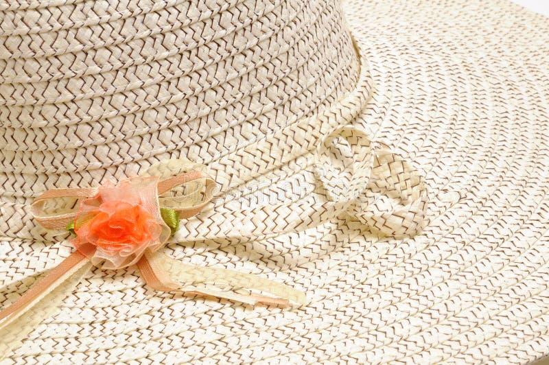 Lato kapelusz zdjęcie royalty free