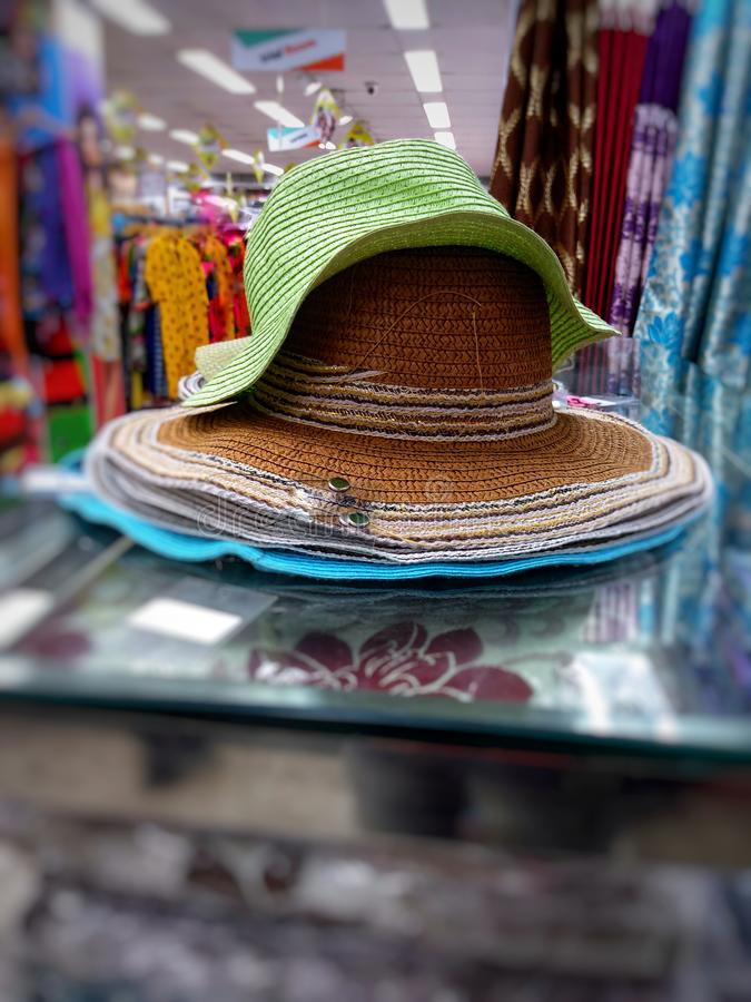 Lato kapeluszy mody obraz stock