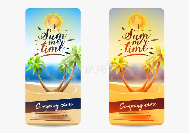 Lato karty zaproszenia przyjęcie royalty ilustracja