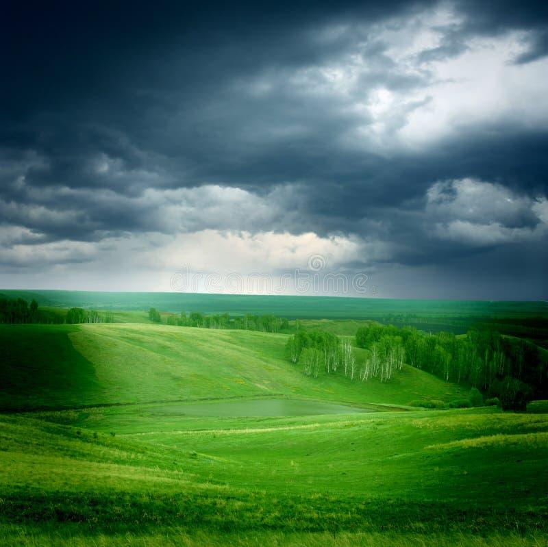 Lato krajobraz obraz royalty free