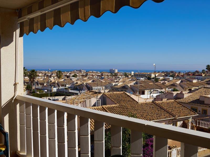 Lato kurortu Orihuela Costa Walencja Hiszpania fotografia royalty free