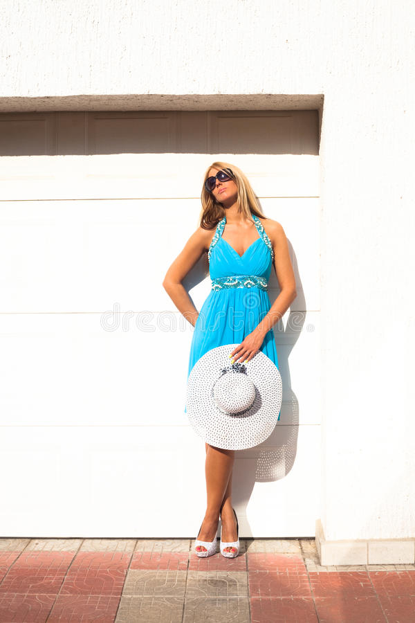 Lato moda fotografia royalty free