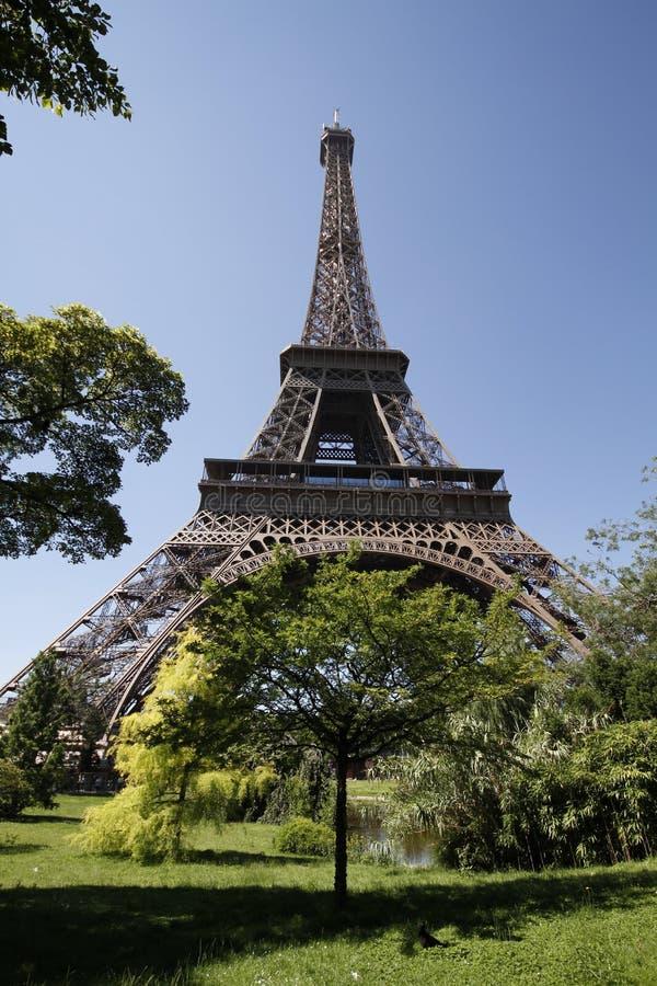Lato nascosto della Torre Eiffel? fotografie stock