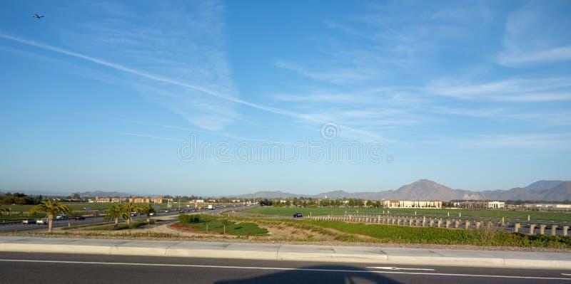 Lato nord di Camarillo, CA immagine stock
