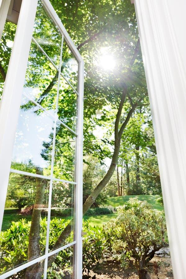 lato okno fotografia royalty free