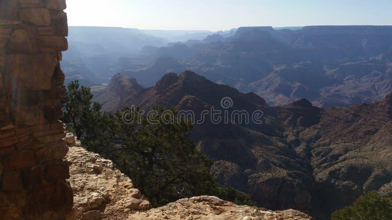 Lato orientale dell'orlo del sud di Grand Canyon immagini stock