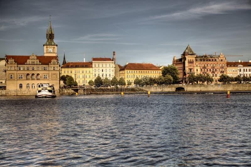 Lato panorama Praga zdjęcie stock