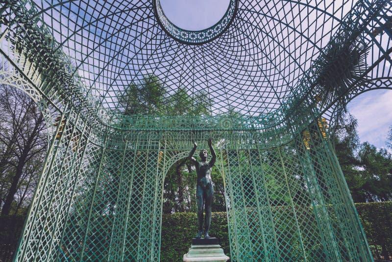 Lato pawilon w Sanssouci parku, Potsdam zdjęcie stock