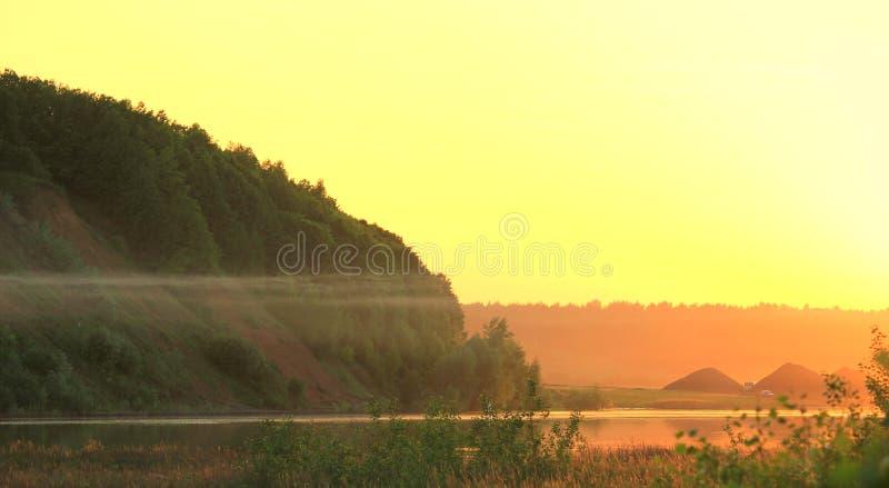 Lato piękny krajobraz obrazy stock