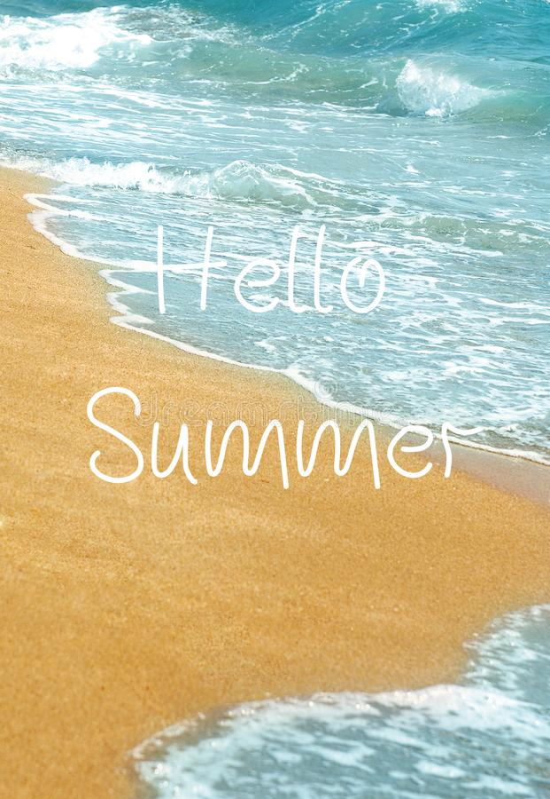Lato piękny zachód słońca na plaży zdjęcie stock