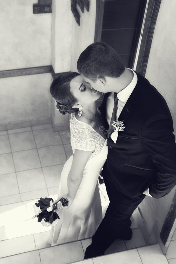 Lato romantyczny ślub w Provence stylu zdjęcia royalty free