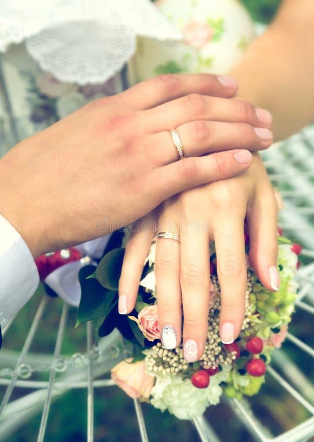 Lato romantyczny ślub w Provence stylu obrazy stock