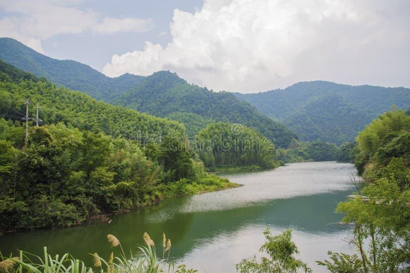 Lato sceneria «Tybet linia «w południowym prowincja anhui, Chiny fotografia royalty free