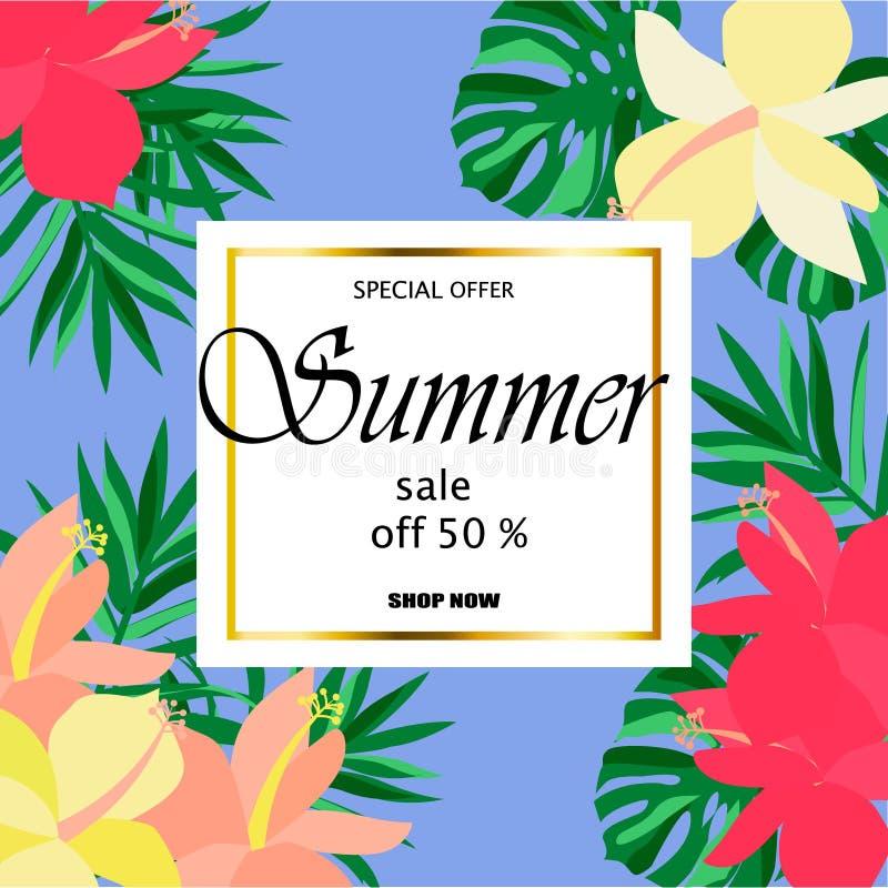 Lato sprzedaży pojęcie ilustracja wektor