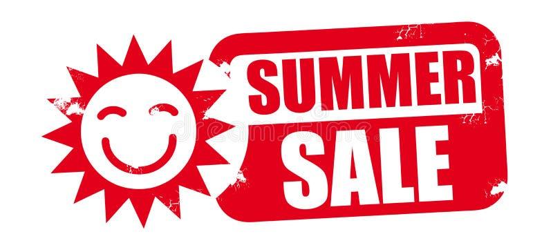 Lato sprzedaży promocja royalty ilustracja