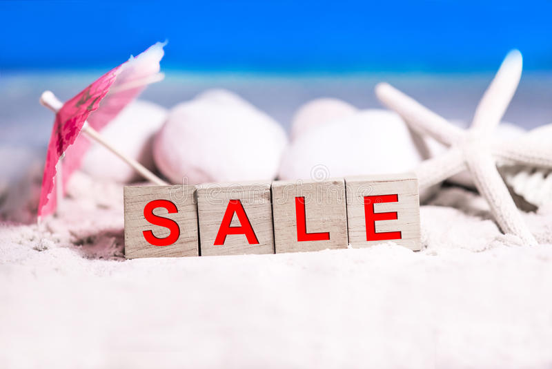 Lato sprzedaży sezon obraz stock