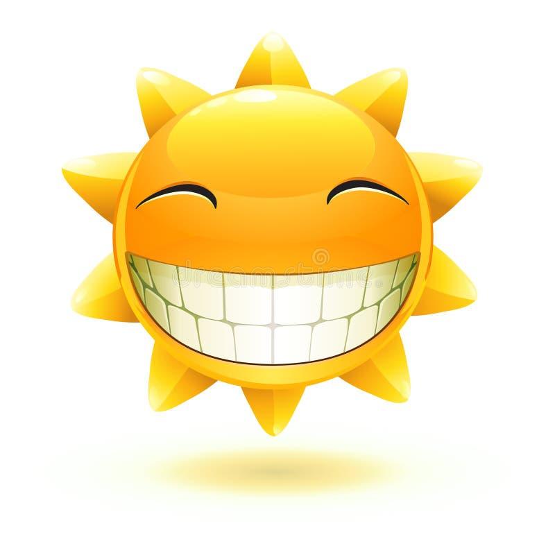 lato szczęśliwy słońce ilustracja wektor