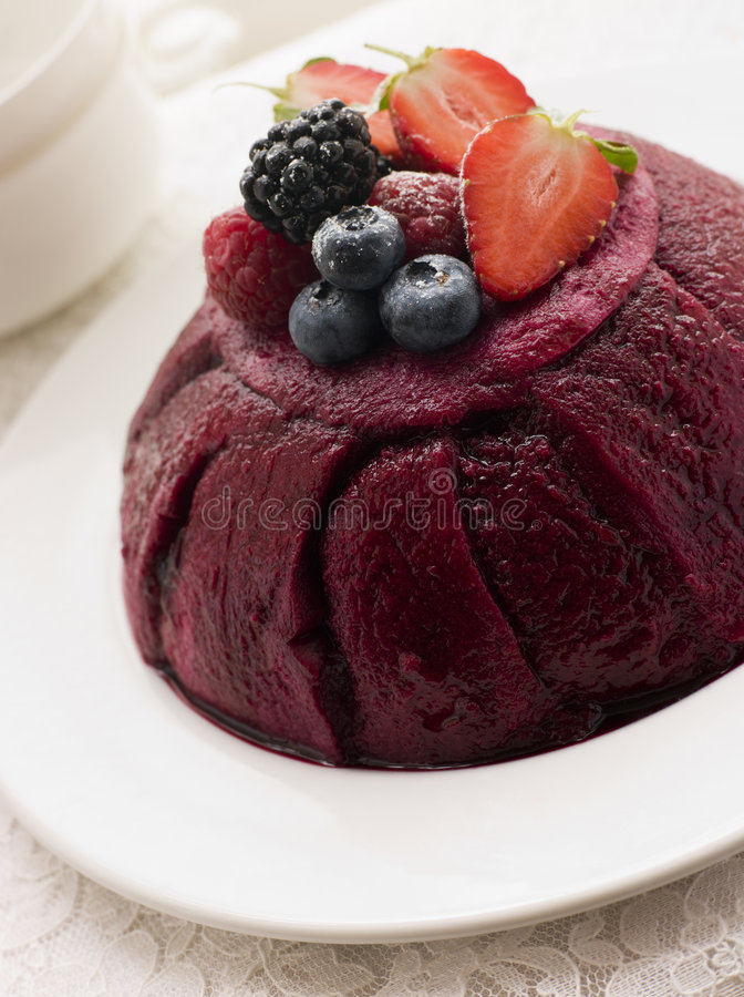 lato tradycyjne puddingu obraz royalty free