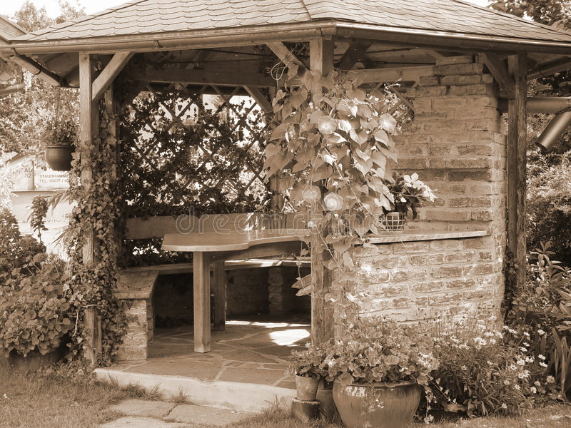 Download Lato w domu zdjęcie stock. Obraz złożonej z czerń, kwiaty - 34012