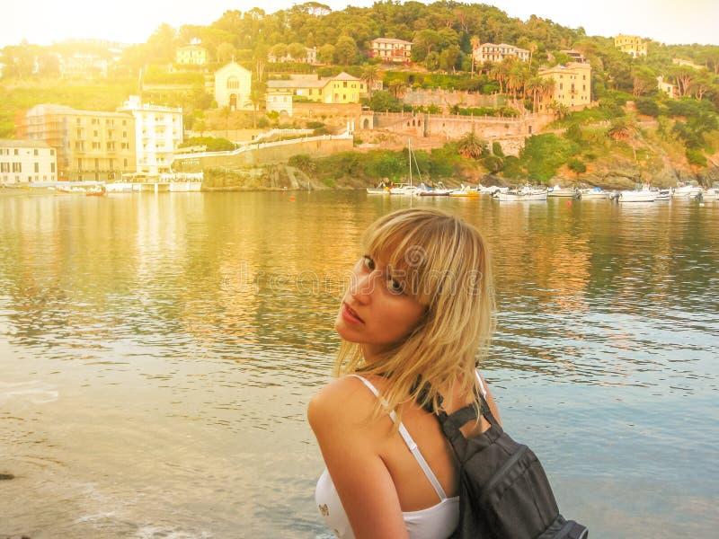 Lato w Sestri Levante obrazy stock
