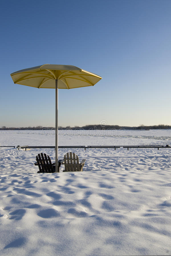 Lato w zimie obrazy royalty free