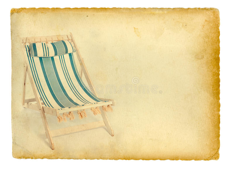 Lato wspominki royalty ilustracja