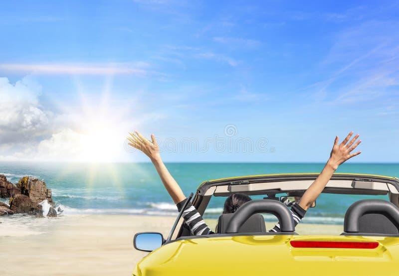 Lato wycieczki samochodowy wakacje fotografia stock