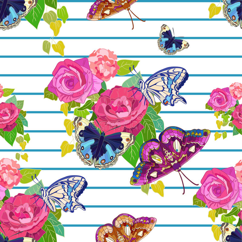 Lato wzór royalty ilustracja