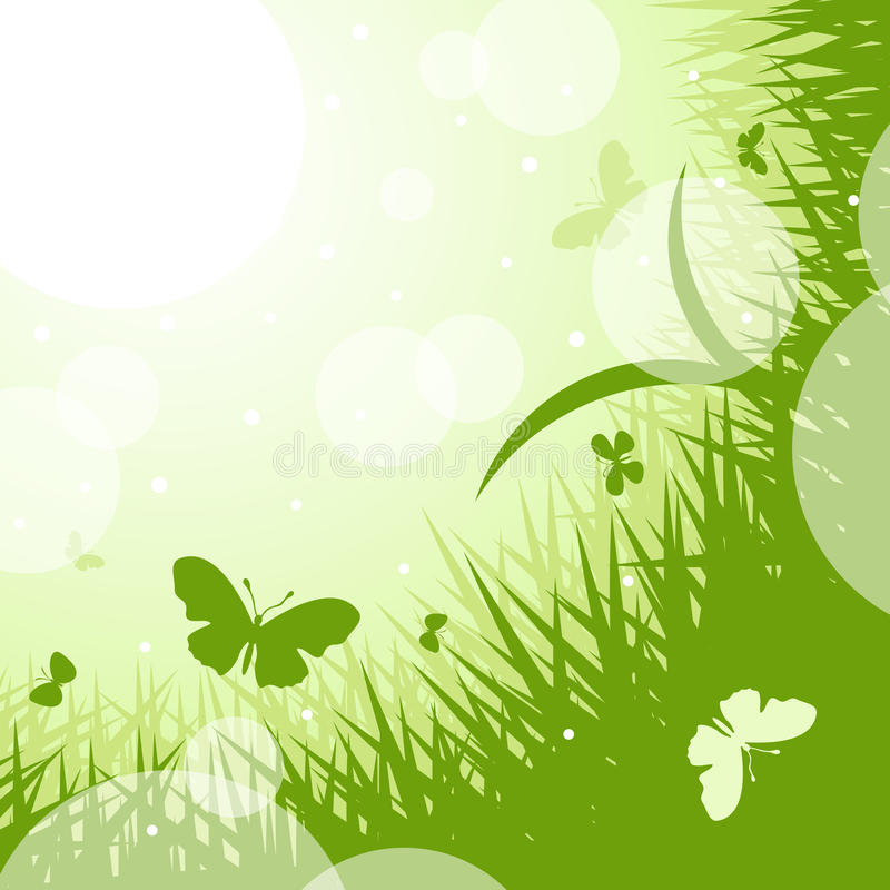 Lato zielony temat obrazy royalty free