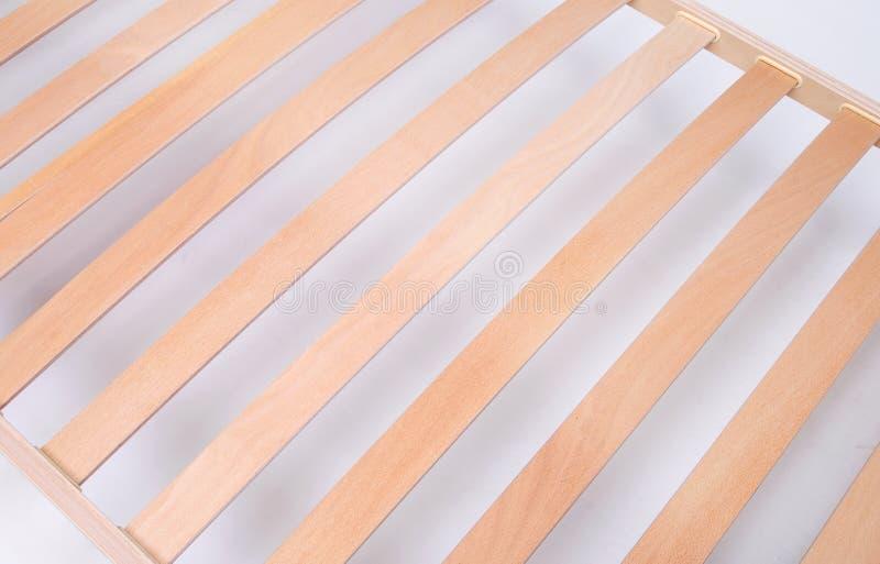 Latoflex, bouleau, lamelles en bois photographie stock libre de droits