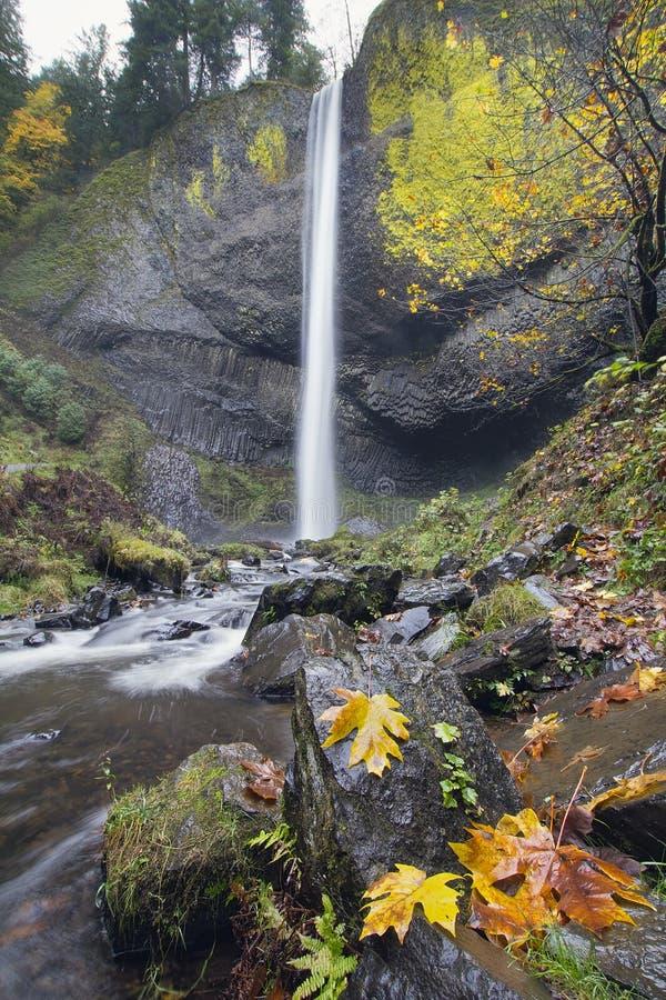 Free Latourell Falls Oregon In Autumn Royalty Free Stock Photos - 27542108