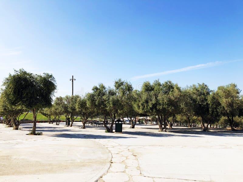 LATRUN, ISRAËL 13 MARS 2018 : Site commémoratif et le musée blindé de corps dans Latrun, Israël photo stock