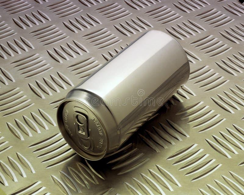 Latta di alluminio fotografie stock