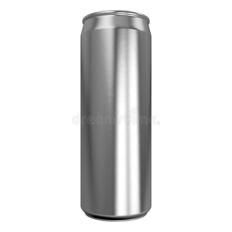 Latta di alluminio esile illustrazione vettoriale