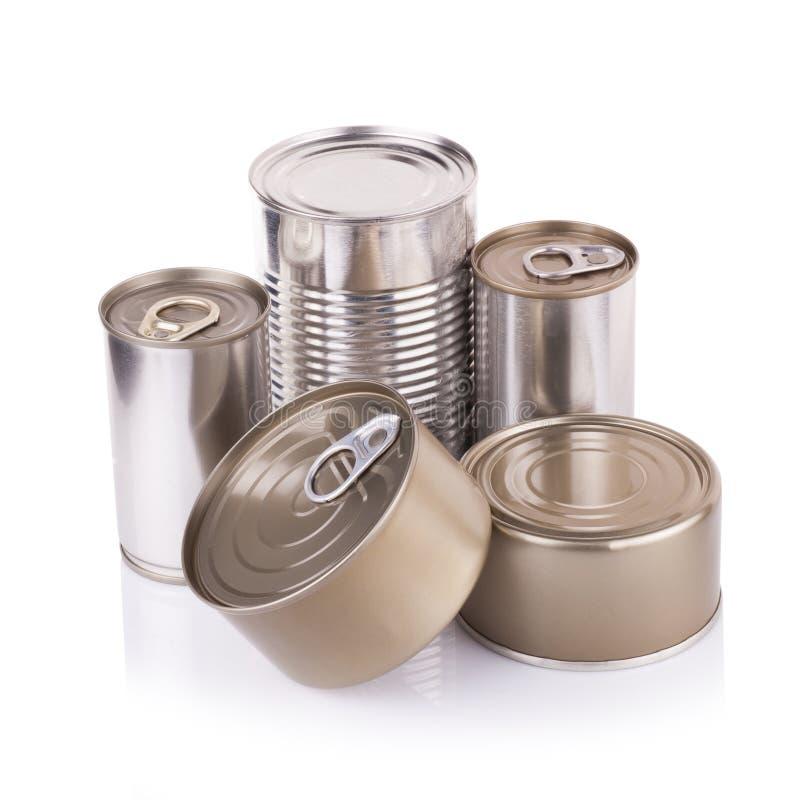 Download Latta Di Alluminio Su Un Fondo Bianco Fotografia Stock - Immagine di etichetta, airtight: 56884724