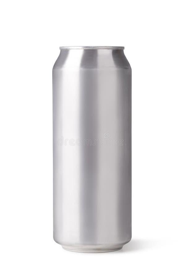 Latta di birra immagine stock