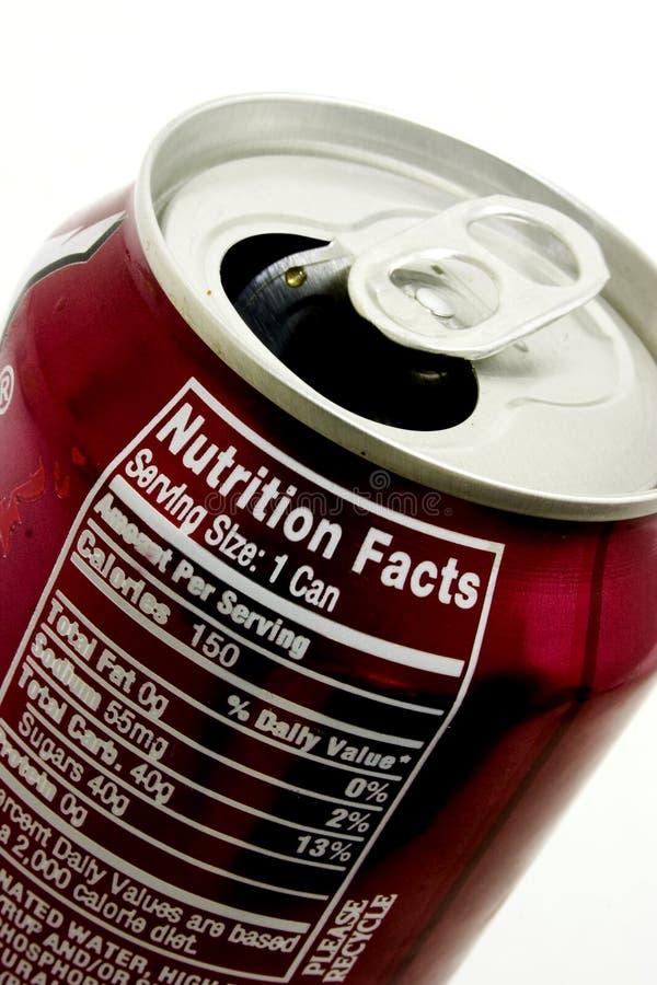 Latta di soda immagini stock libere da diritti