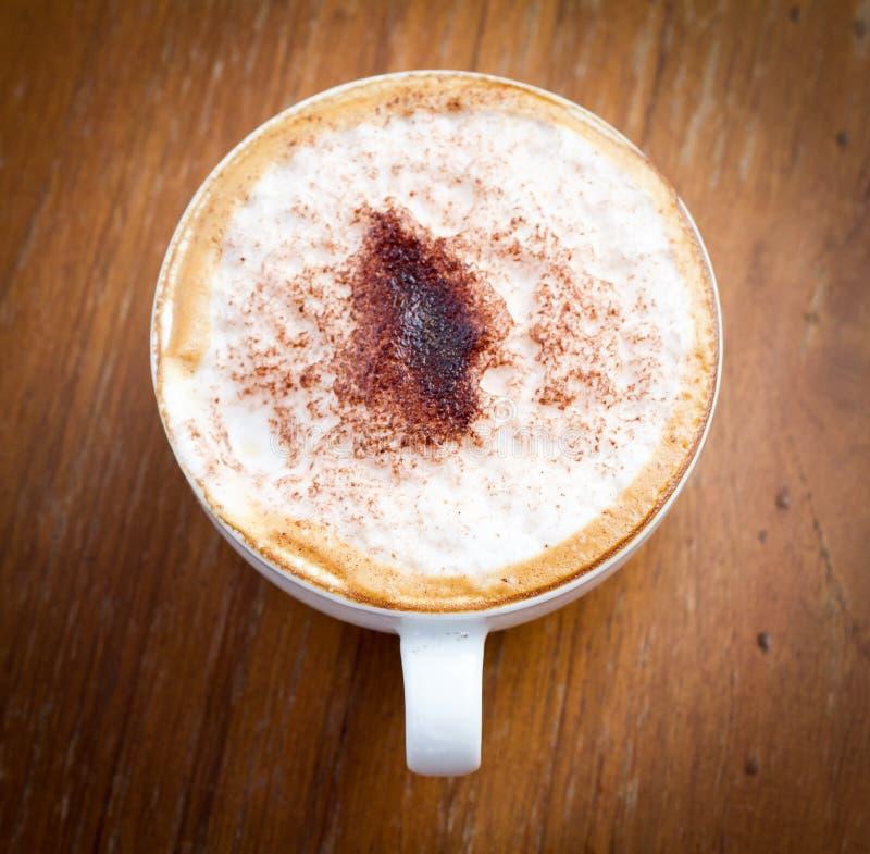 Latte咖啡 免版税库存图片